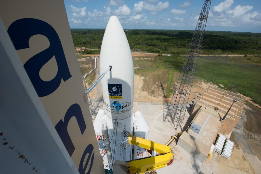 Image of Ariane 5 flight VA233 on launch